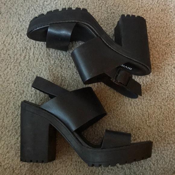 b2af9364a04 H M Shoes - H M - Black chunky platform rubber sandals